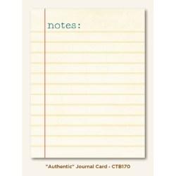 Картка для журналінгу Authentic (Collectable), My Mind's Eye, CTB170