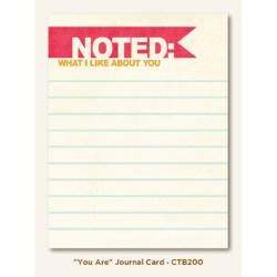 Картка для журналінгу You Are, My Mind's Eye, CTB200