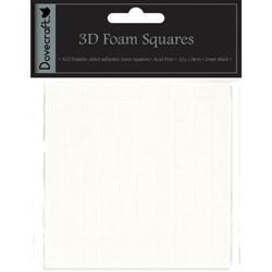 Двосторонні об'ємні клейкі квадратики Large 3D, Dovecraft, DCBS06