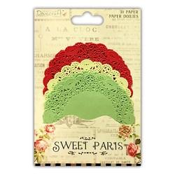 Паперові серветки кольорові Sweet Paris, Dovecraft, DCDO008