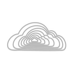Набір ножів Nesting Cloudy Infinity Dies, Hero Arts, DI426