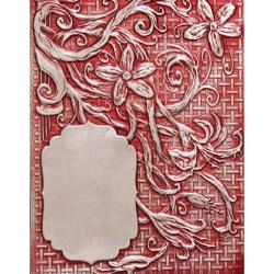 Папка для тиснення 3D Floral Labels Four, Spellbinders, E3D-009