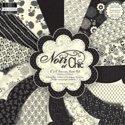 Набір паперу Noir et Chic, 20х20 см, First Edition, FEPAD054