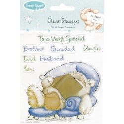 Штампи Fizzy Moon Clear Stamps – All About Him