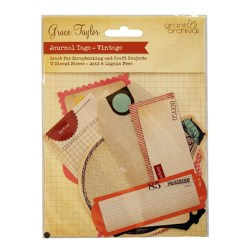 Картки для журналінгу Journal Tags Vintage, Grace Taylor, GS2122