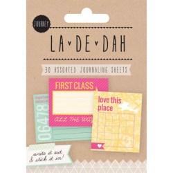 Картки для журналінгу Journey, La De Dah, Grant Studios, GS2606