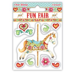Штампи Fun Fair – Carousel, Helz Cuppleditch, HCCS022