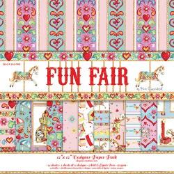 Набір паперу Fun Fair, 30х30 см, Helz Cuppleditch, HCDP016