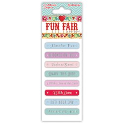 Написи наклейки Fun Fair, Helz Cuppleditch, HCST023