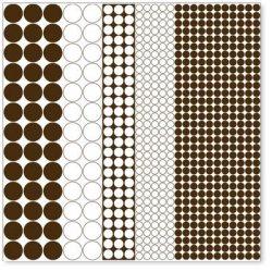 Оверлей Mod Circles 30×30 Brown Overlay, HO638