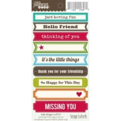 Лейби The Little Things Soup Labels, Jillibean Soup, JBE8848