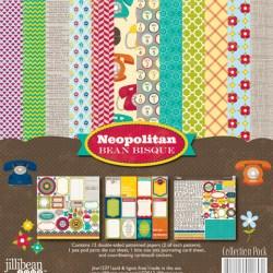 Набір паперу та прикрас Neopolitan Bean Bisque, 30х30см, Jillibean Soup, JBW1237