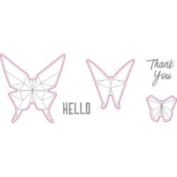 Штампи + ножі Hello Butterfly, Richard Garay, OLSD-003