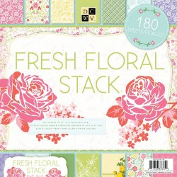 Набір паперу Fresh Floral 30×30, 180 аркушів, PS-005-00198