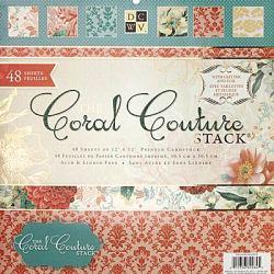 Набір паперу Coral Couture, 30х30 см, DCWV, PS-005-00203