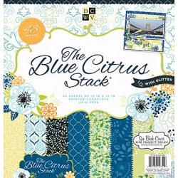 Набір паперу Blue Citrus, 30х30 см, DCWV, PS-005-00283