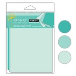 Заготовки для листівок Pool Mixed Folded Cards, Hero Arts, PS639