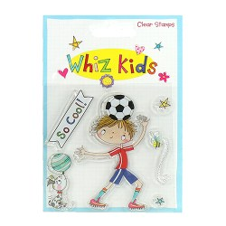 Штампи акрилові Whiz Kids – Footballer, Rachel Ellen, RESTP002