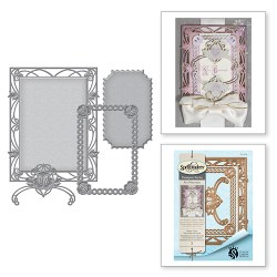 Ножі Waterlilies Decorative Accent, Spellbinders, S4-669