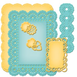 Ножі A2 Floral Ribbon Threader, Spellbinders, S5-176
