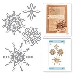 Ножі Yuletide Snowflakes, Spellbinders, S5-379