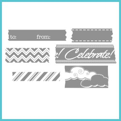 Штампи Tape It, Celebra'tions™, Spellbinders, SCS-006