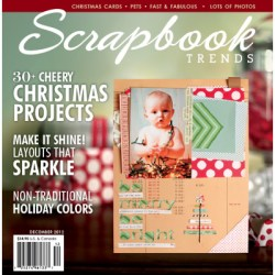 Журнал Scrapbook Trends December 2012