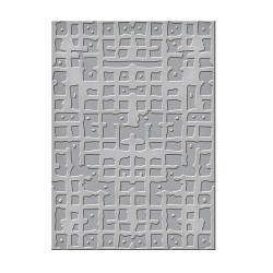 Папка для тиснення Gridiron, Spellbinders, SEL-002