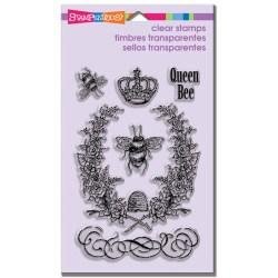 Штампи акрилові Queen Bee, Stampendous, SSC1154