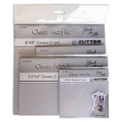 Обкладинки для створення альбомів – Bind-It-All прозорі, 20×20, Zutter, ZT2793