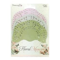 Паперові серветки кольорові Floral Muse, Dovecraft, DCDLS004
