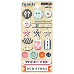 Ґудзики Family Stories, Teresa Collins, FS1026