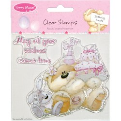 Штампи Fizzy Moon Clear Stamps – Birthday Treats, FZCS12