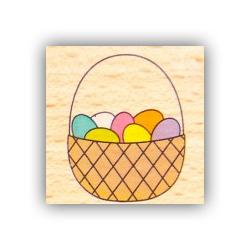 Гумовий штамп Basket, Hampton Art, VW0061-8