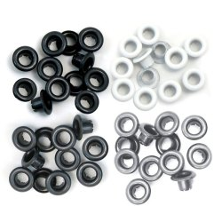 Люверси Standard Eyelets – Aluminum Grey, 60 шт, 41582-4