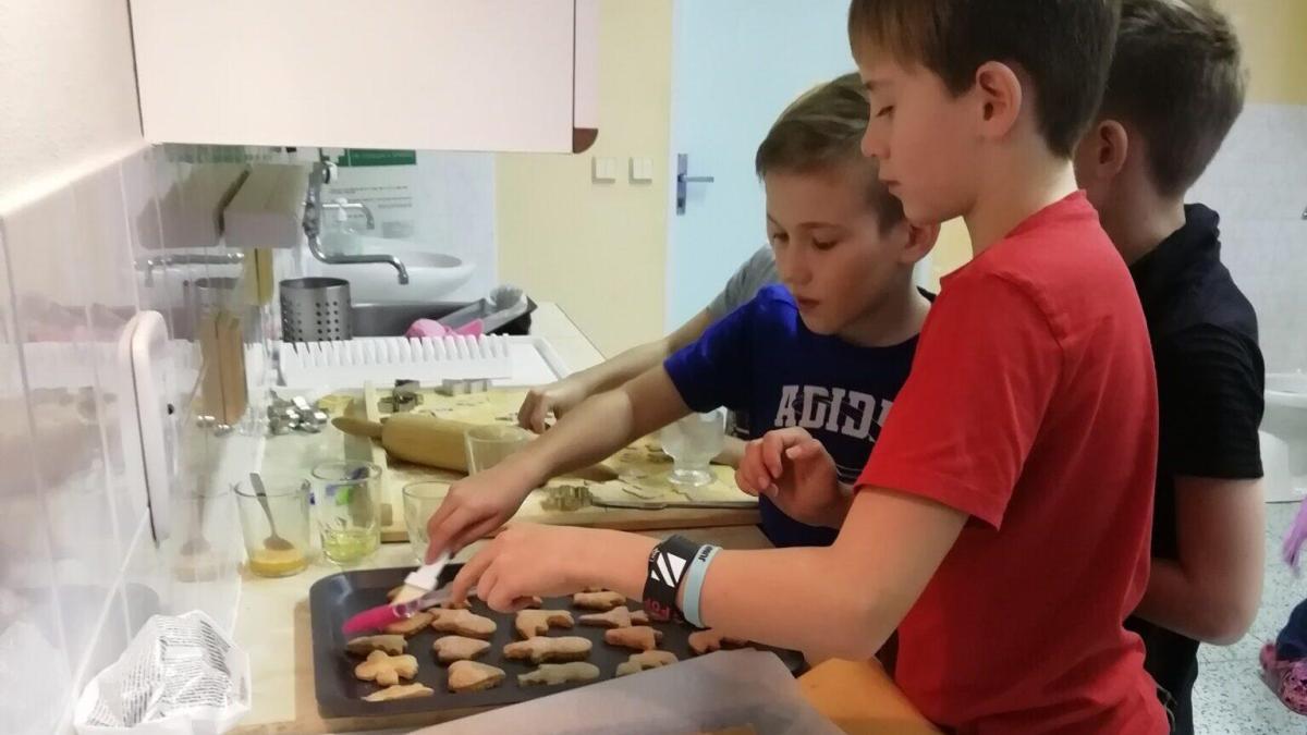 Pečení cukroví