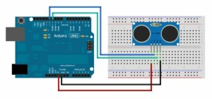 Ultrasonic Sensor Interfacing  Arduino tutorial  Circuit