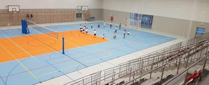 Hala Sportowa otwarta – pierwsze lekcje WF
