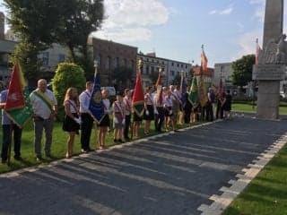 Uroczyste obchody 80. rocznicy wybuchu II Wojny Światowej w Mosinie