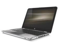 HP Envy13 - left facing open on white