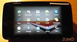 Menu principal do N900