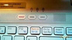 Teclas de atalho rápido (suporte, internet, multimídia)