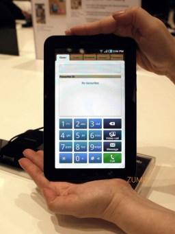 sim, o galaxy tab é um telefone