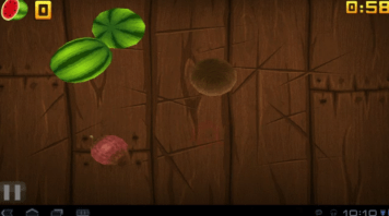 fruit ninja - app para android 2.2