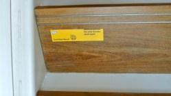 Na escada, o alerta do uso de materiais sustentáveis