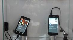 Modelos da LG e da Huawei