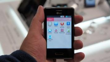 LG Optimus L3 II: menu de Apps