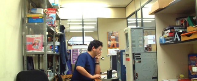 Nagano no PC World Lab (foto via Blog Lenovo)
