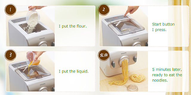 Philips-Noodle-Maker_making