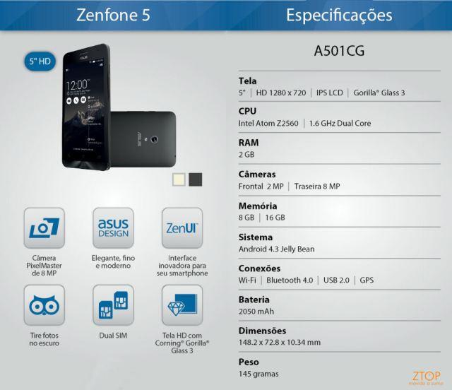 Zenfone5_specs